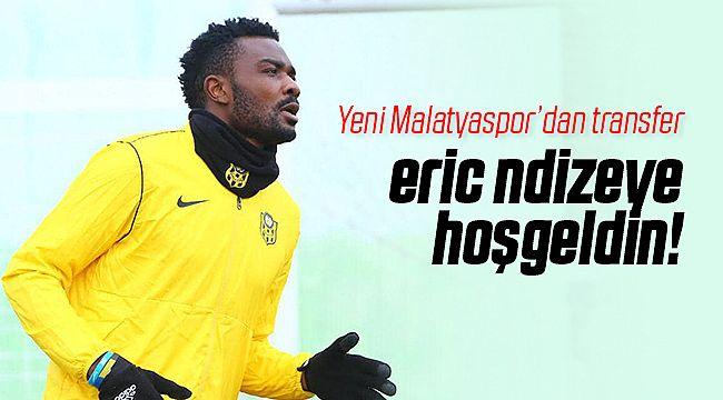 Yeni Malatyaspor Eric Ndizeye'yi Transfer Etti