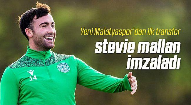 Yeni Malatyaspor Stevie Mallan'ı Transfer Etti