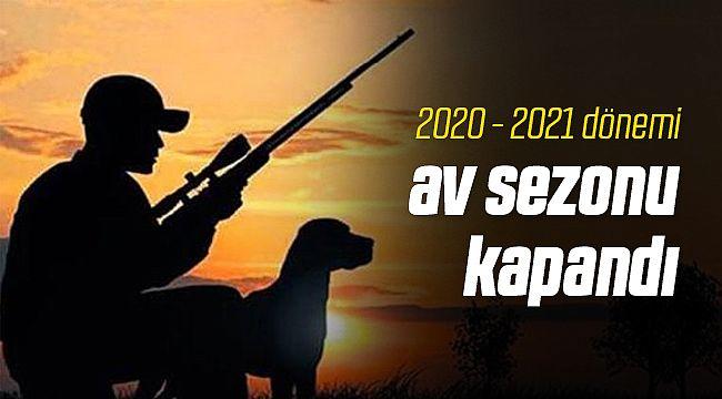 2020 - 2021 Av Sezonu Kapandı
