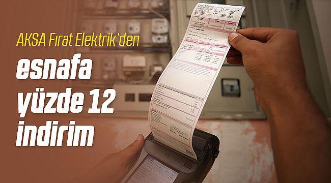 AKSA Fırat Elektrik Esnafa Sahip Çıktı!