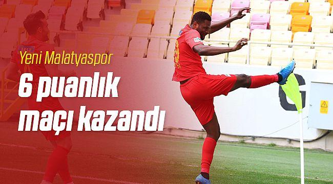 Yeni Malatyaspor 6 puanlık maçı kazandı
