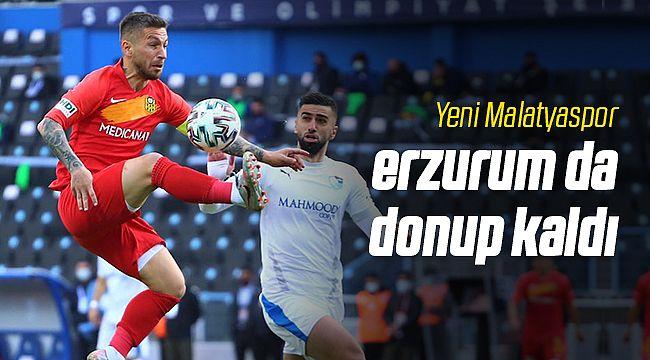 Yeni Malatyaspor Erzurum'da Donup Kaldı!