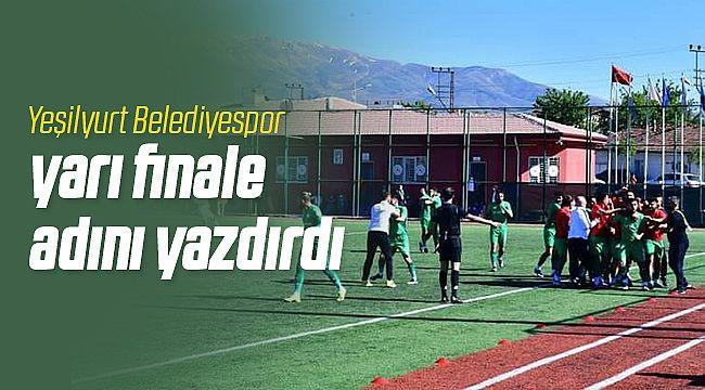 Yeşilyurt Belediyespor Yarı Finale Yükseldi