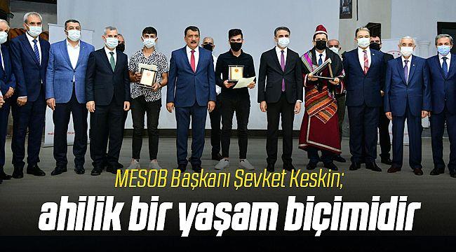 Malatya'da Ahilik Haftası Törenle Başladı